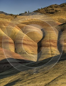 Mitchell Oregon Painted Hills Colored Dunes Formation Overlook Western Art Prints For Sale River - 022359 - 06-10-2017 - 7760x10116 Pixel