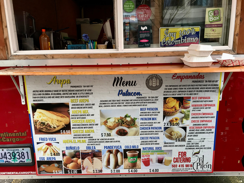 El Pilón Food Cart - Portland Food Cart Tour