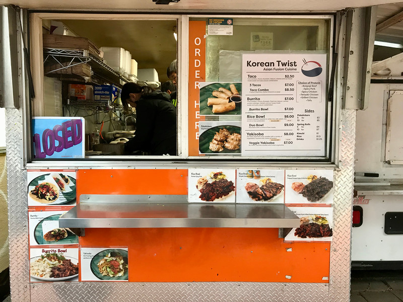Korean Twist Food Cart - Portland Food Cart Tour