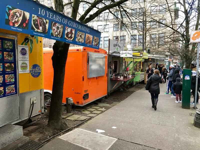 Alder Street Food Cart Pod - Portland Food Cart Tour