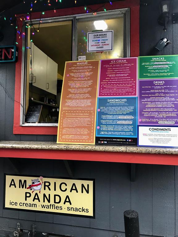 American Panda Food Cart - Portland Food Cart Tour