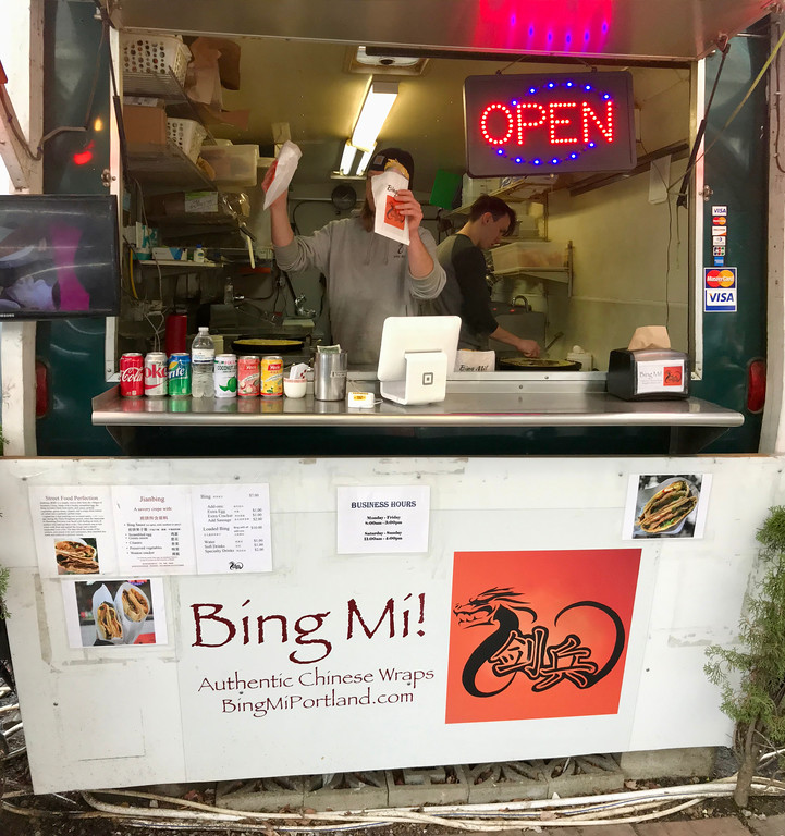 Bing Mi - Portland Food Cart Tour