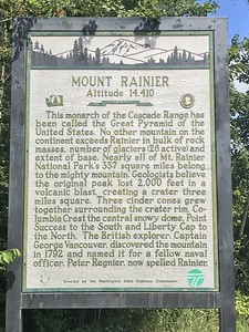 Mt. Rainier day