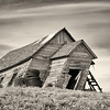 Leaning Barn,  Whitman County, Washington