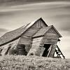 Leaning Barn,  Whitman County, Washington