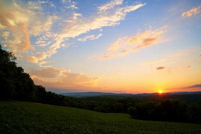 Country Sunset, Pennsylvania