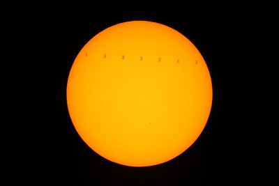 International Space Station Solar Transit