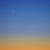 Photographing the Crescent Moon and Venus
