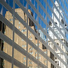 City Hall reflected in office building, Philadelphia, Pennsylvania