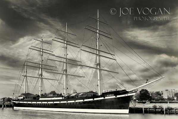 Tall Ship Moshulu, Penn's Landing, Philadelphia, Pennsylvania