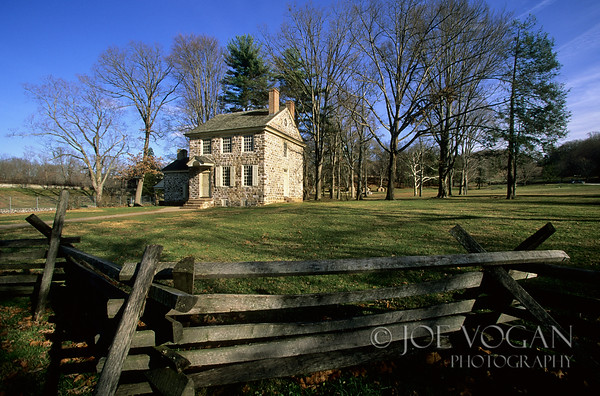 Washington's Headquarters, Valley Forge National Historic Park, Pennsylvania