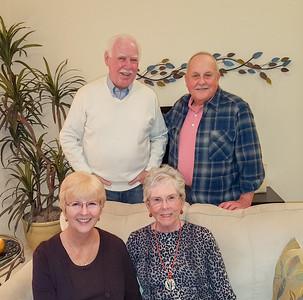 Fred, Dick, Carol & Joyce