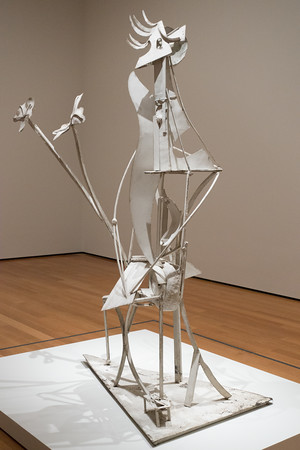 Picasso Sculpture Exhibit