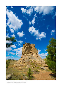 Medicine Rocks State Park, MT