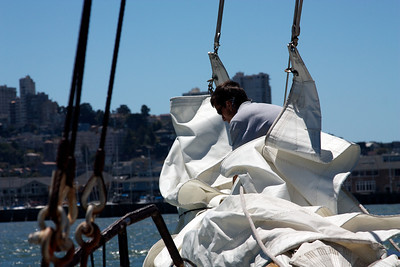 Ferry ride in SF Bay