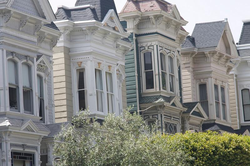 San Francisco Stick architecture.