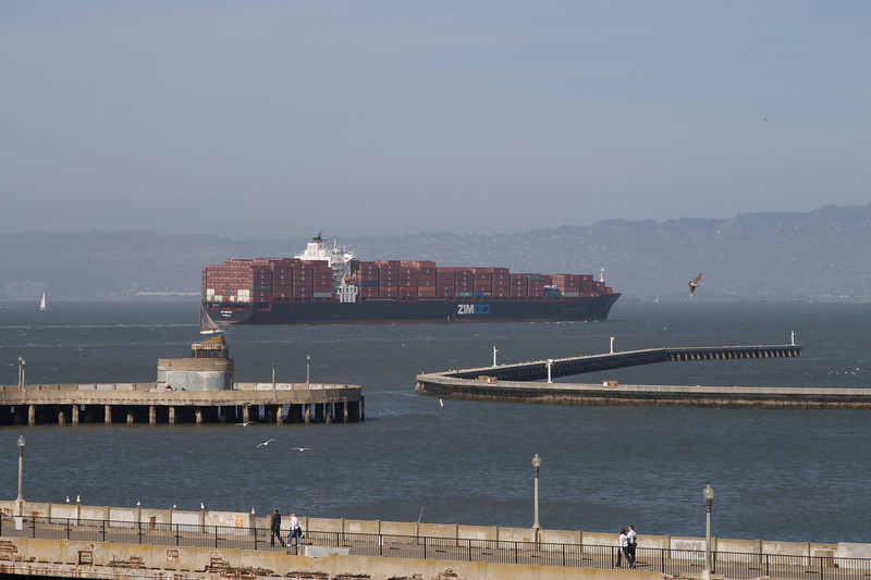 These container ships always remind me of Michael Plain going round the world in 80 days....