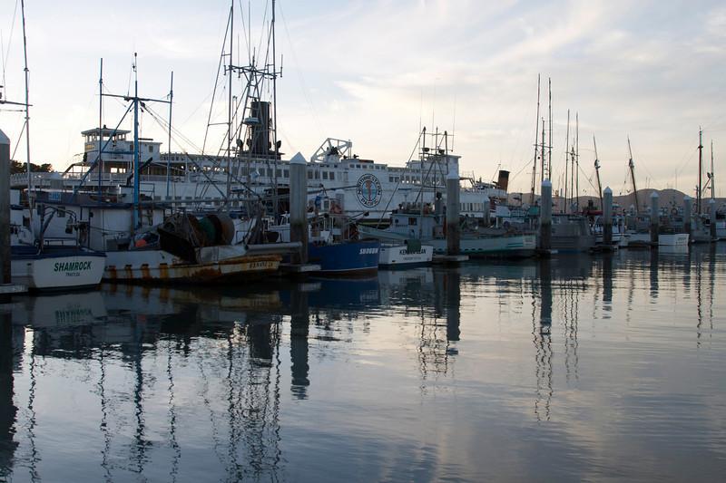 Also taken behind Fisherman's wharf.