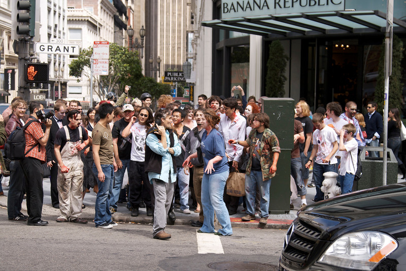Zombie parade