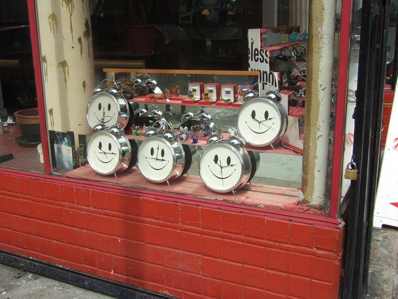 Smiley clocks....