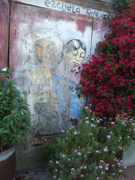 Balmy street art work...