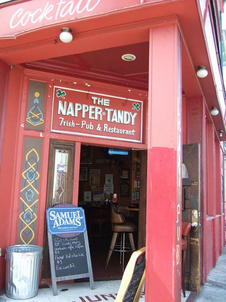 An Irish pub amidst mostly hispanic/black neighborhood of 24th street....