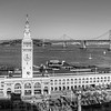 Ferry Building - B&W