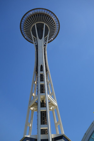 Space Needle in Seattle Center