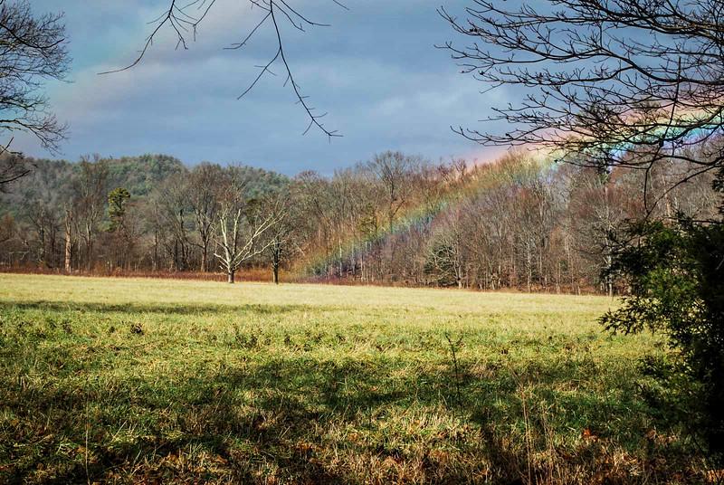 cades cove rainbow