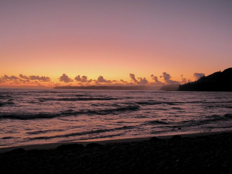 My first sunrise