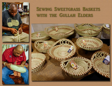 Sewing Sweetgrass Baskets
