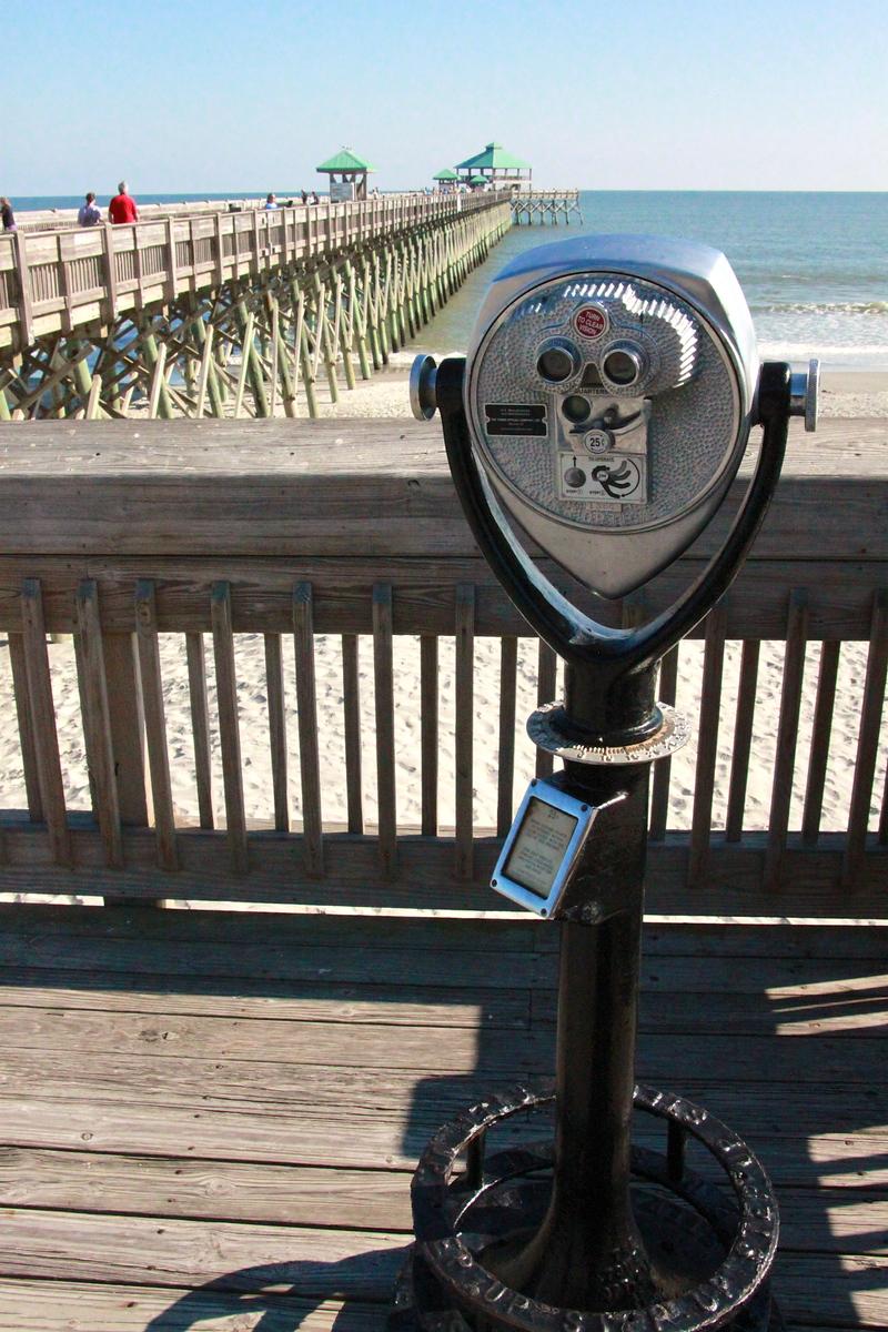 Folly Beach Pier - Charleston, South Carolina - Photo