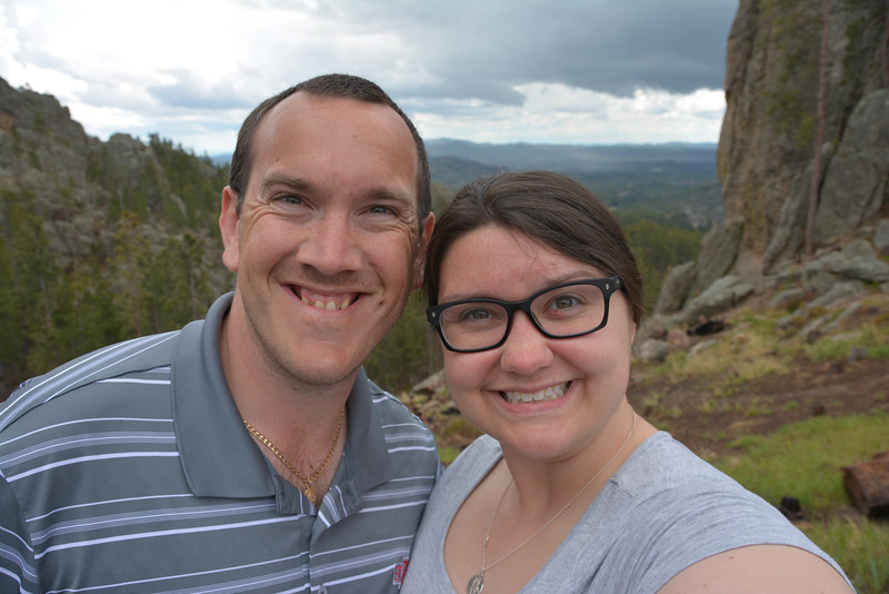 needles highway overlook