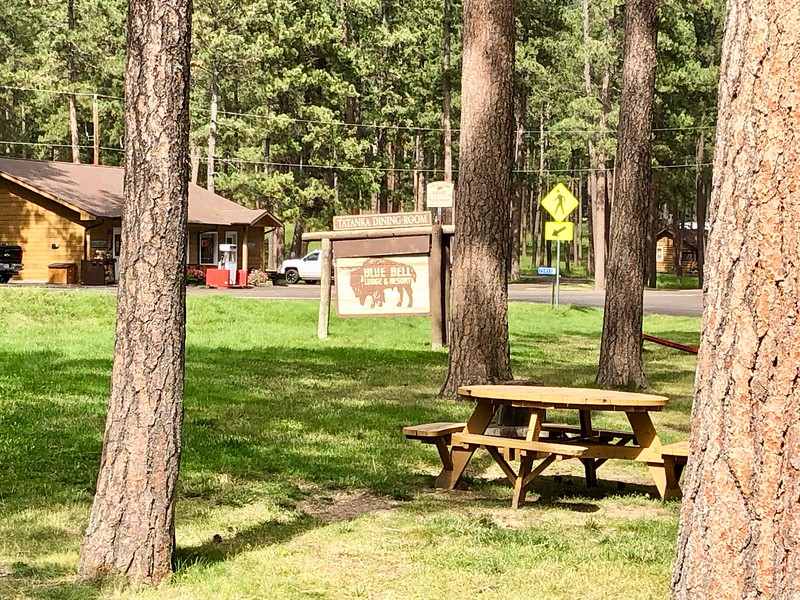 Blue Bell Lodge - Custer Eyalet Parkı