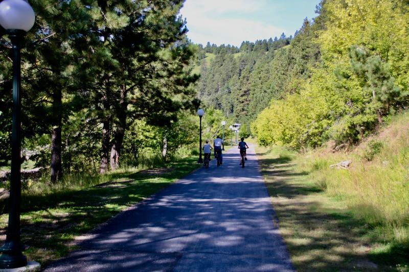 Mickelson Trail - Deadwood, Güney Dakota