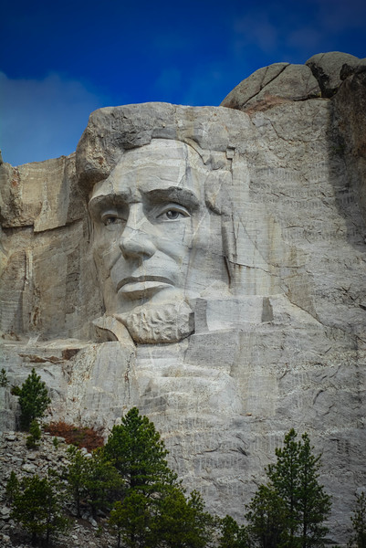 abraham lincoln mount rushmore