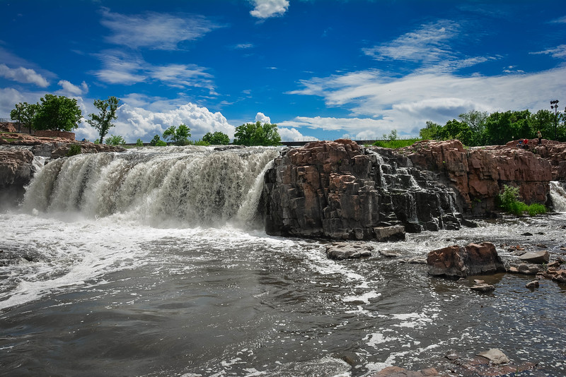 falls park in sioux falls south dakota