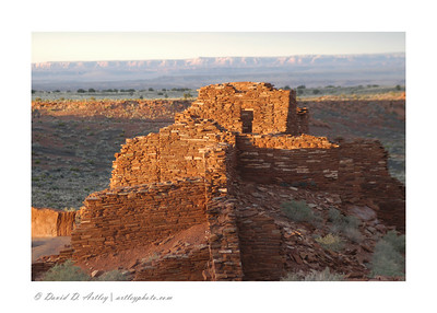Pueblo ruins, Wupatki National Monument