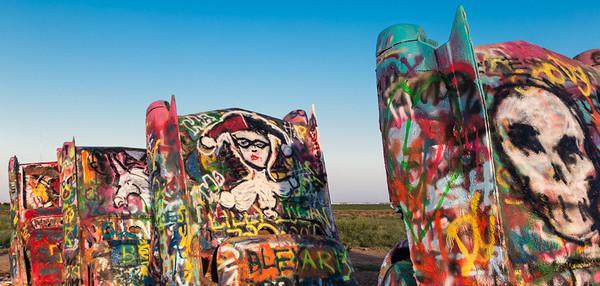 Cadillac Ranch graffiti, #2