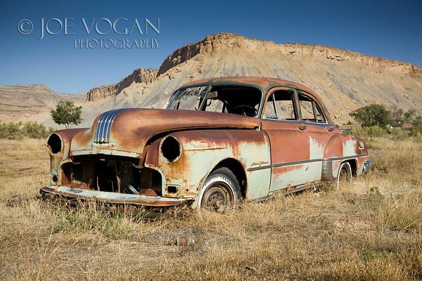 Abandoned Car, Thompson, Utah