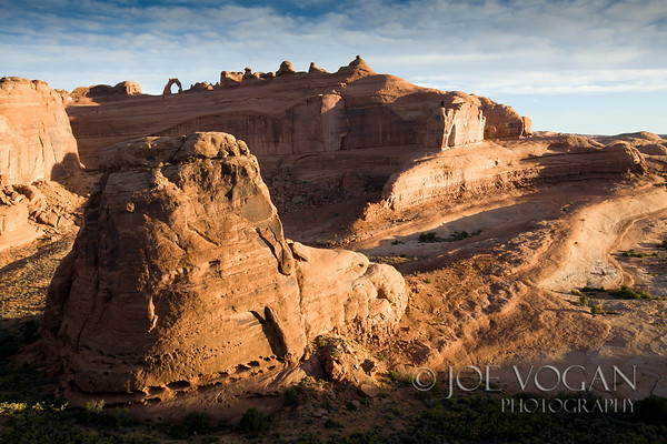 Landscape and Delicate Arch, Arches National Park, Utah