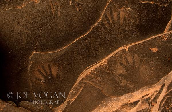 Pictograph, Fallen Roof Anasazi Ruins, Cedar Mesa Area, Utah