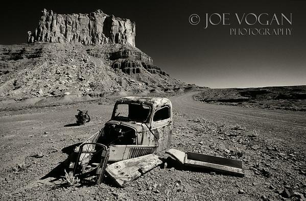 Truck Ruin, San Rafael Swell, Utah