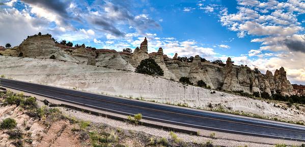 Red Rocks State Park panorama, NM
