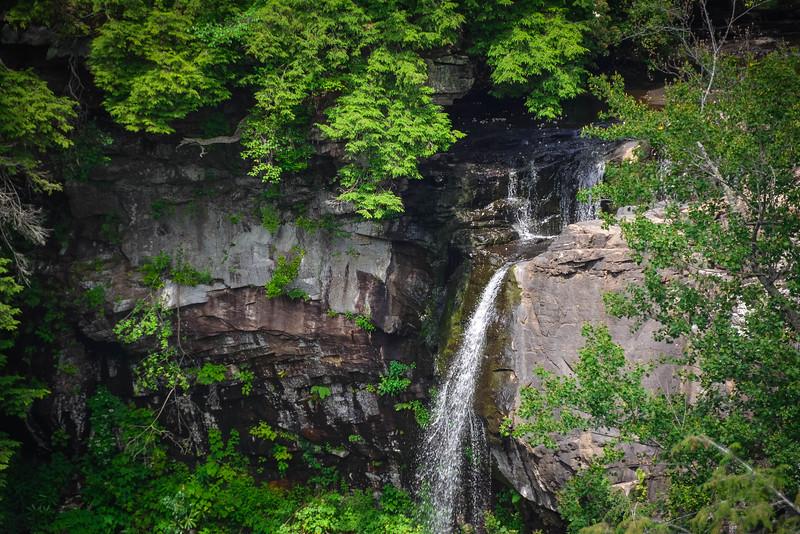 piney creek falls overlook