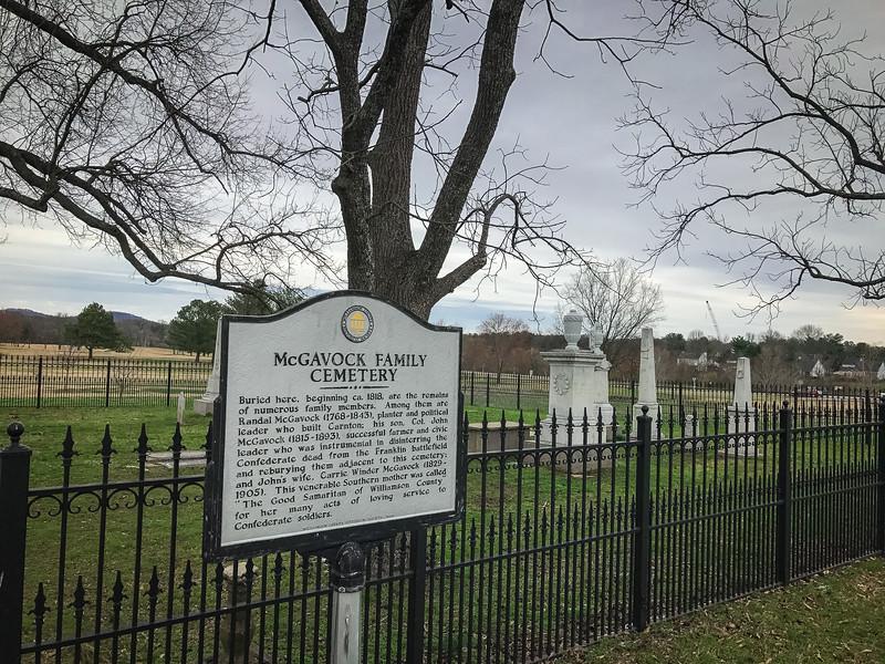 mcgavock cemetery franklin