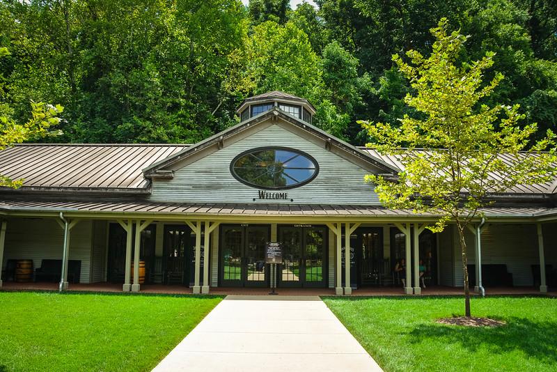 jack daniels visitor center