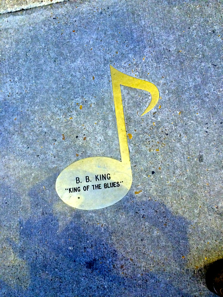 B.B. King on walk of fame