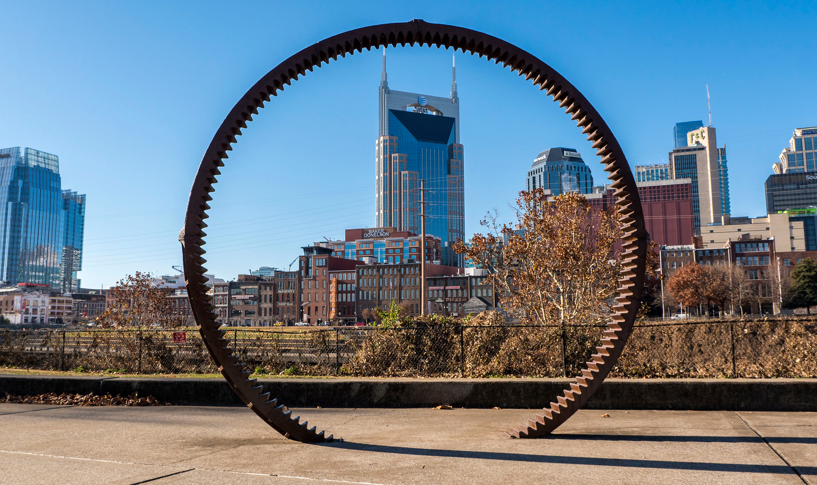 Things to do in Downtown Nashville Attractions - John Seigenthaler Pedestrian Bridge to Cumberland Park