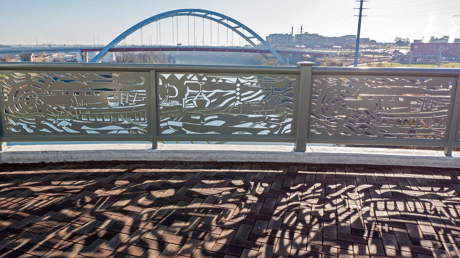 Things to Do in Nashville - John Seigenthaler Pedestrian Bridge to Cumberland Park